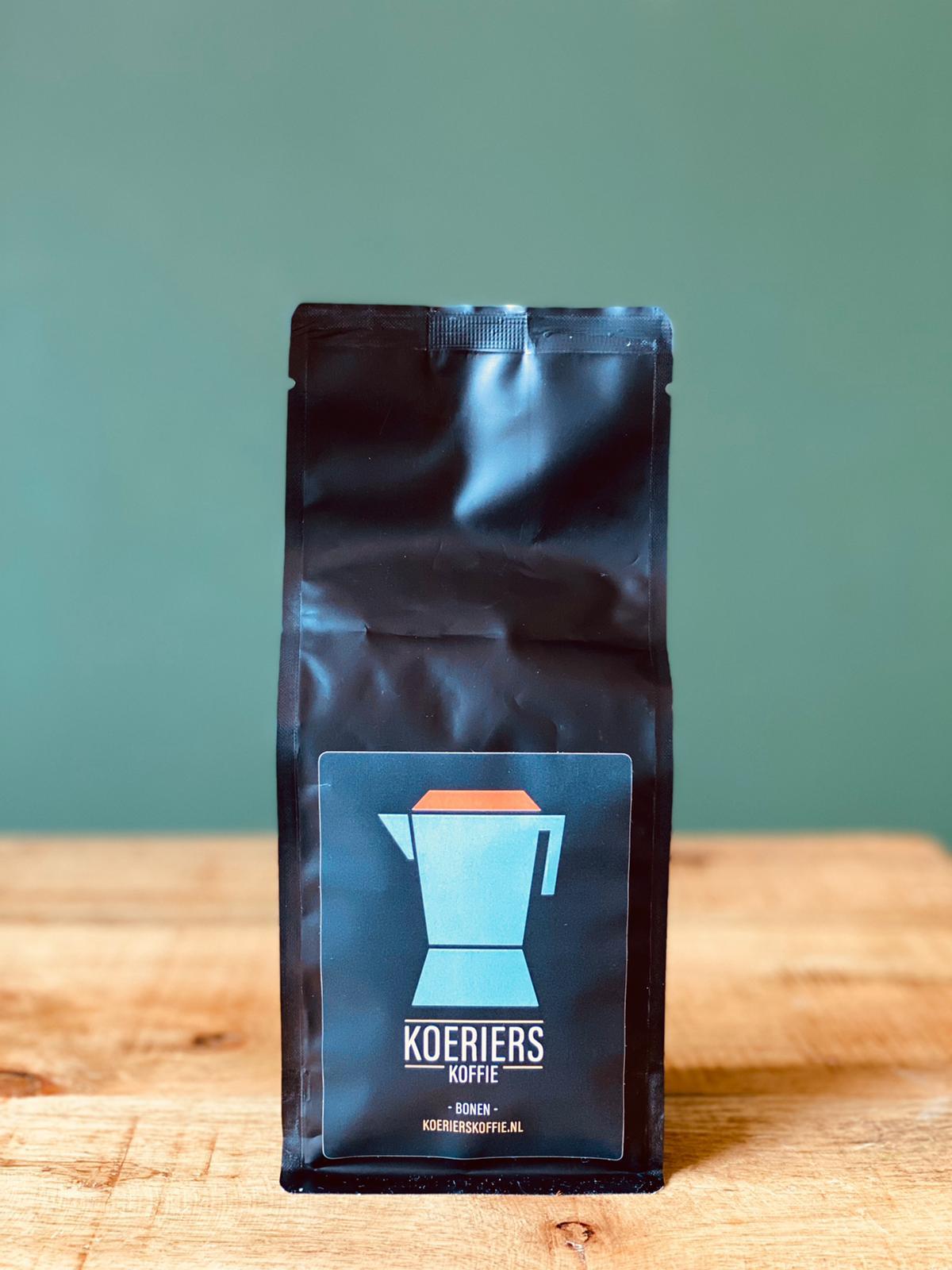 koerierskoffie koffiezak